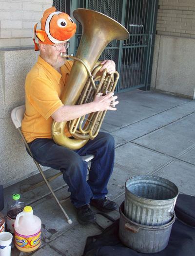 """Ed """"Tuba Man"""" McMichael"""